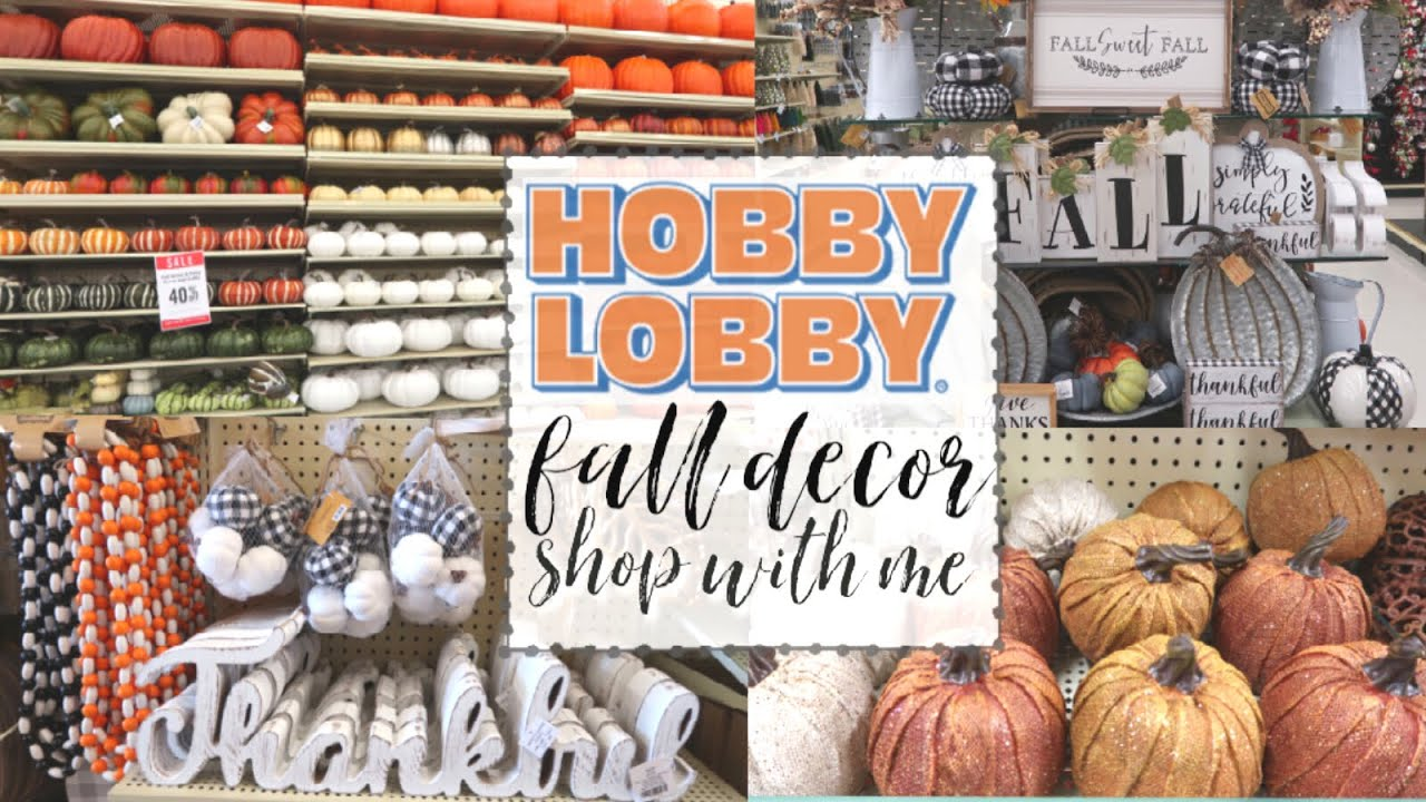 Hobby Lobby Fall Decor 2019 Shop With Me New Fall Decor At Hobby Lobby Fall Y All Series Ep 4 Youtube