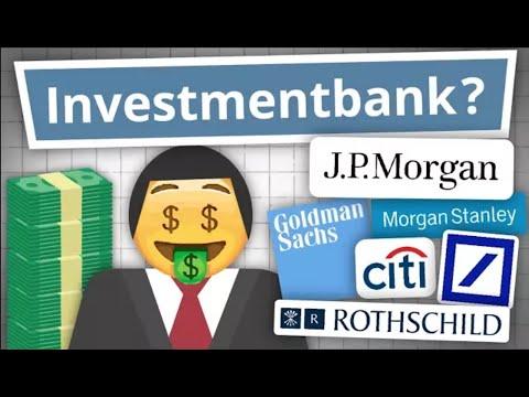Was machen eigentlich Investmentbanker? Investmentbank Erklärung