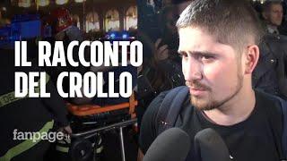 """Roma, crollo scala mobile: """"Chi non è riuscito a saltare è rimasto ferito"""""""