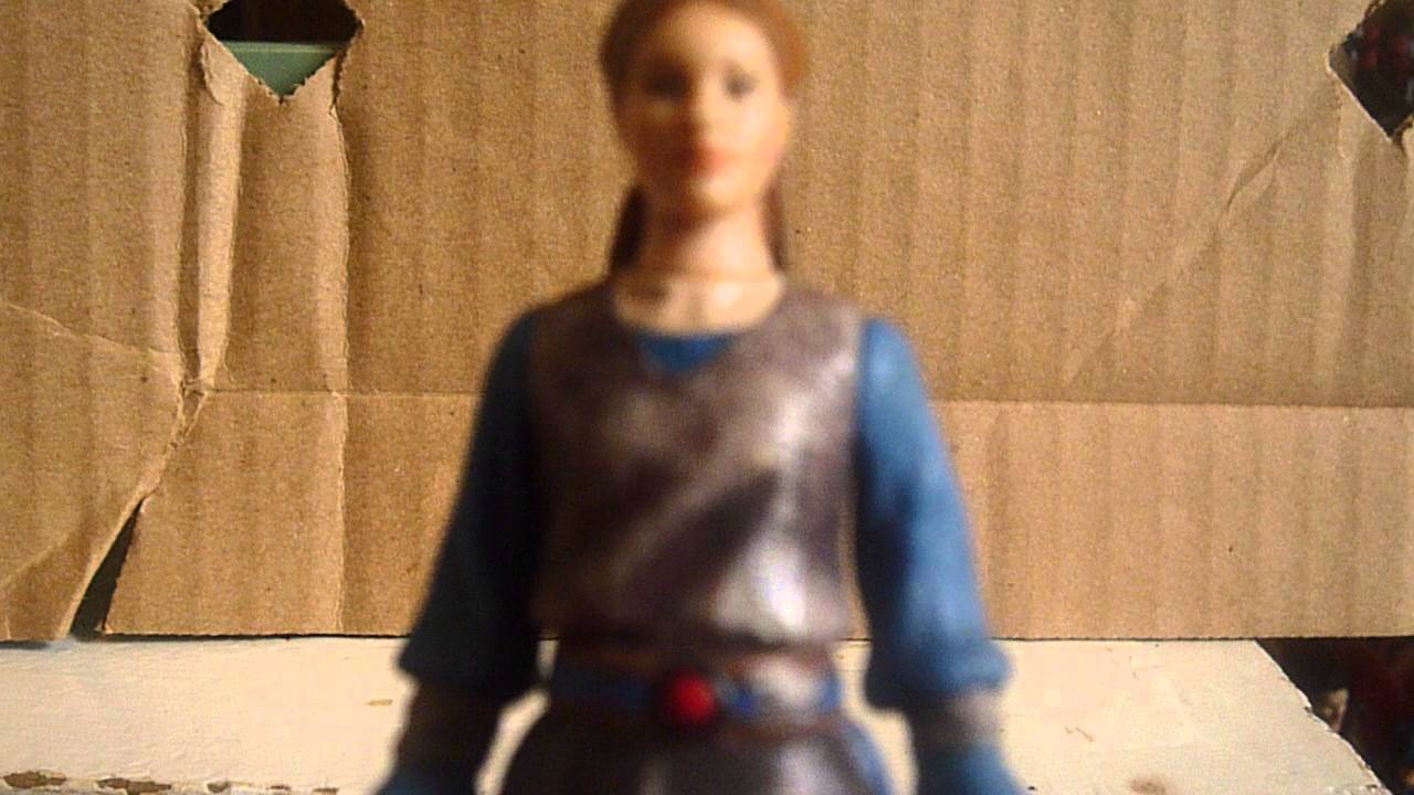 Star Wars Episode 1 Padme Naberrie figure review - YouTube
