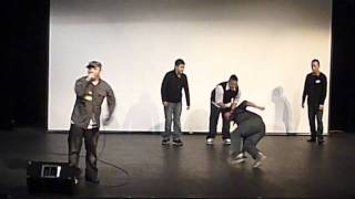Seattle Spiral Youth Club Open Mic 2011 - Rap & BBoy Cypher - TouSaiko Lee & Full Funktion