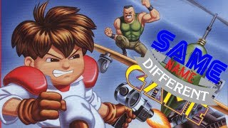 Same Name, Different Game: Gunstar Heroes (Genesis vs. Game Gear)