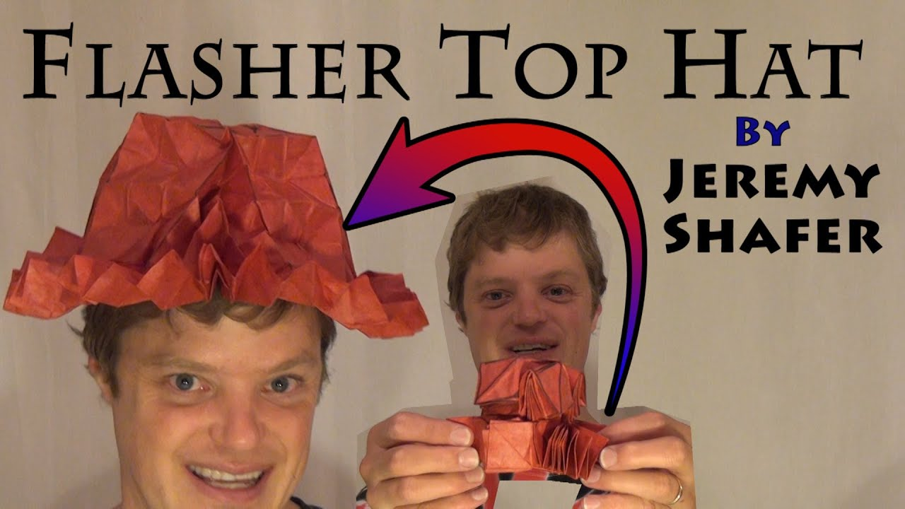 flasher top hat tutorial by jeremy shafer youtube