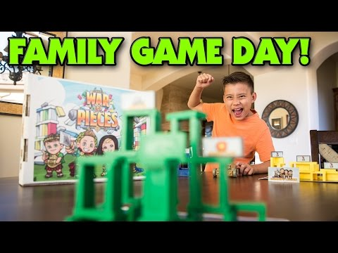 Thumbnail: WAR & PIECES - Family Game Night (Day)!!!