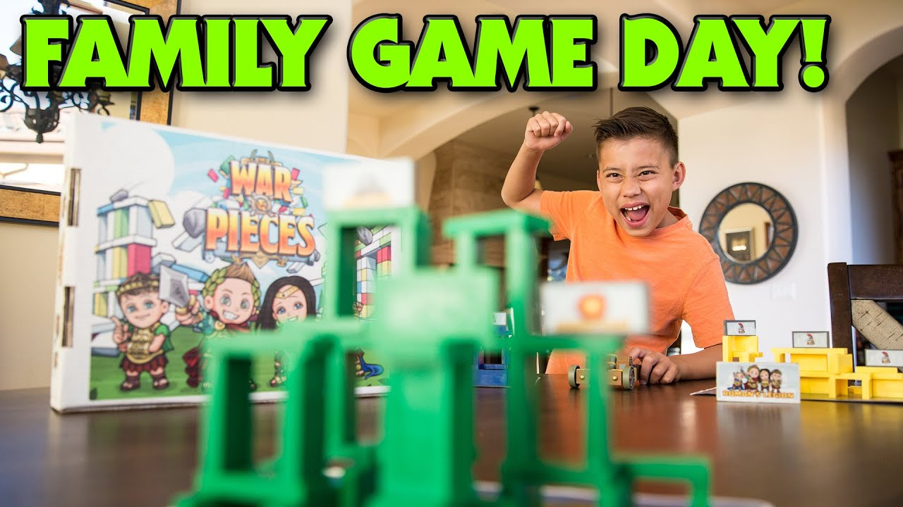WAR & PIECES – Family Game Night (Day)!!!