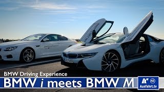 BMW Driving Experience - BMW i meets BMW M