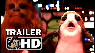 "STAR WARS: THE LAST JEDI ""Chewie Punches Porg"" Official Trailer (2017) Sci-Fi Action Movie HD"