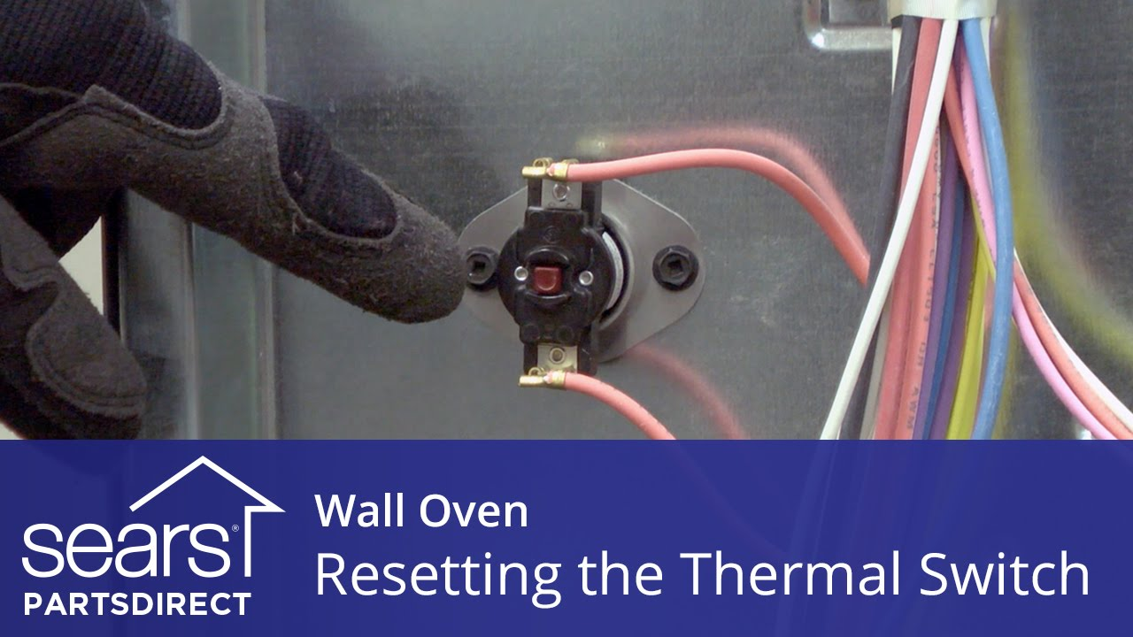 Wall Oven Won T Heat Resetting The Thermal Switch Youtube