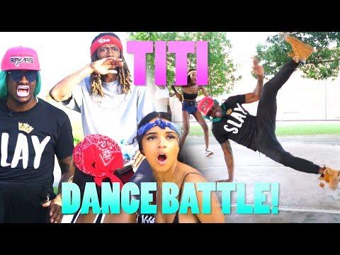 """TiTi """"Dance Battle"""" @BLAMEITONKWAY FILMED BY @JAYCLARK_HTX"""