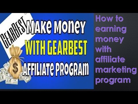 How To Make Money Using Amazon Affiliate Program Dropship From Gearbest