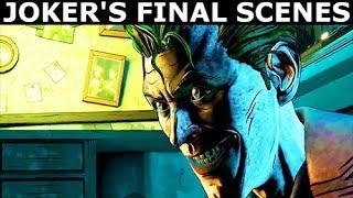 Joker's Final Scenes - Villain & Vigilante - BATMAN Season 2 The Enemy Within Episode 5: Same Stitch