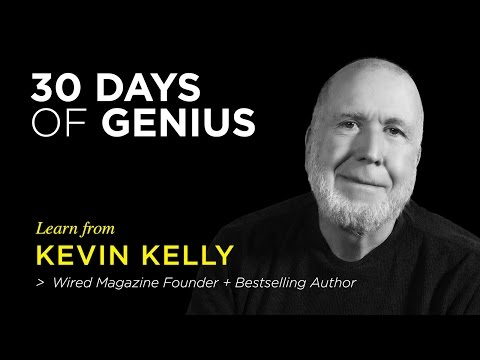 Kevin Kelly on CreativeLive | Chase Jarvis LIVE | ChaseJarvis