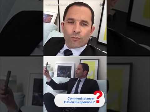 Benoît Hamon FAQ Snapchat