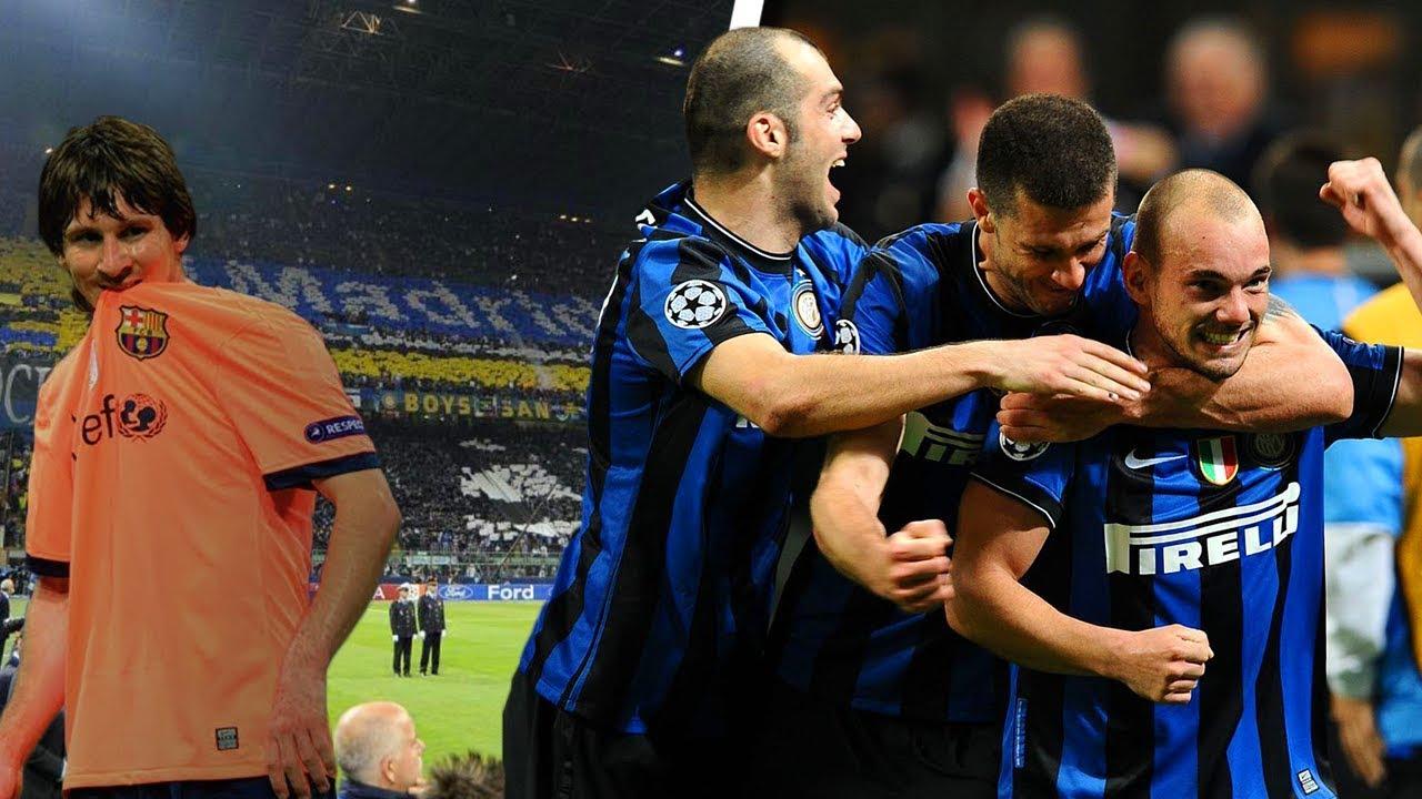 La Notte dell'Impresa | Inter 3-1 Barcellona (2010) - YouTube