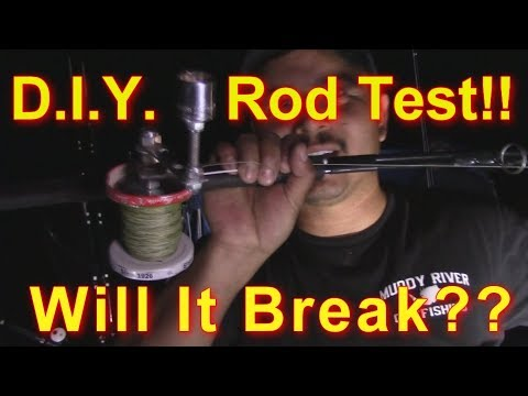 DIY Fishing Rod TEST