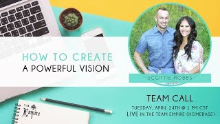 How to Create a Powerful Vision with Scottie Hobbs