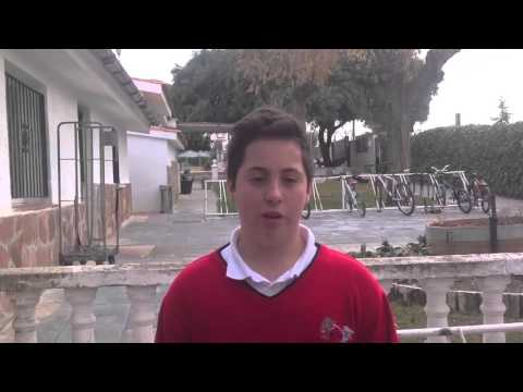 EUROSCHOOL TV: Adrián's interview by and Sevim