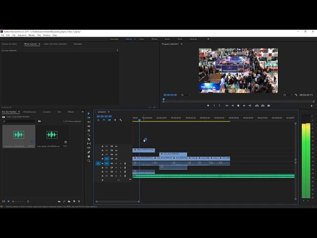 Premiere Pro Eğitimi 10 -  Videoların Seslerini ayarlamak