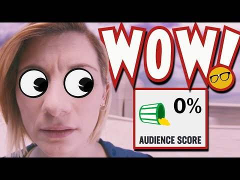 Doctor Who 0% Rotten Tomatoes Audience Score