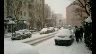 Snow Blizzard In Istanbul 3  25.01.2010