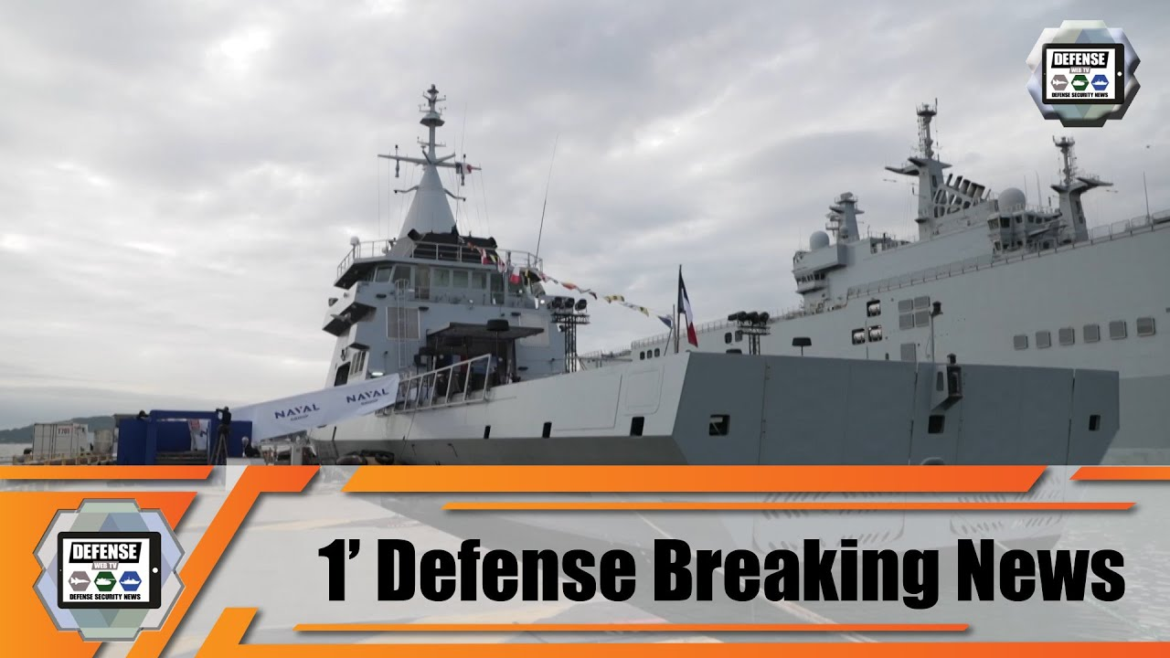 Offshore Patrol Vessel OPV 87 L'Adroit becomes A.R.A. Bouchard of Argentina Navy Naval Group 1
