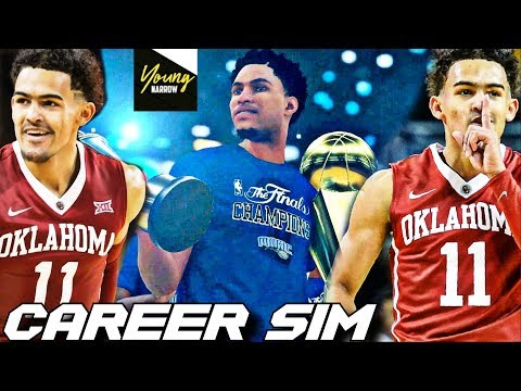 TRAE YOUNG'S NBA CAREER SIMULATION ON NBA 2K18!!! THE NEXT STEPH CURRY?!