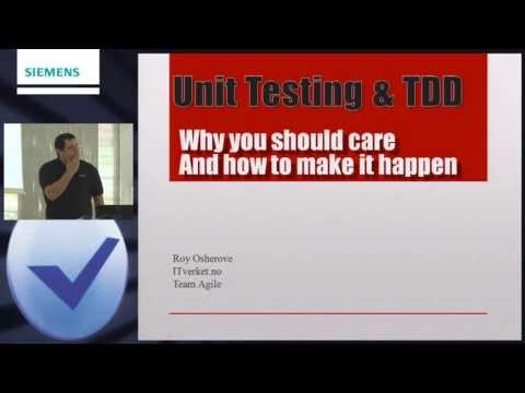 Unit Testing and TDD: Why you should care and how to make it happen