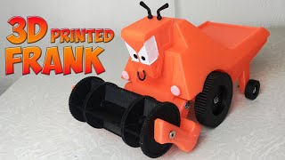 3D Printed Frank (combine-harvester from Cars)