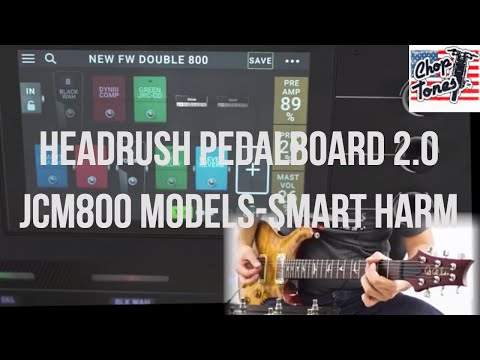 Headrush Pedalboard | Firmware 2.0 Demo (Marshall JCM800 Models, Smart Harmonizer)