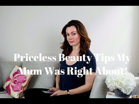 Priceless Beauty Tips My Mum Was Right About! | Dr Sam in the City