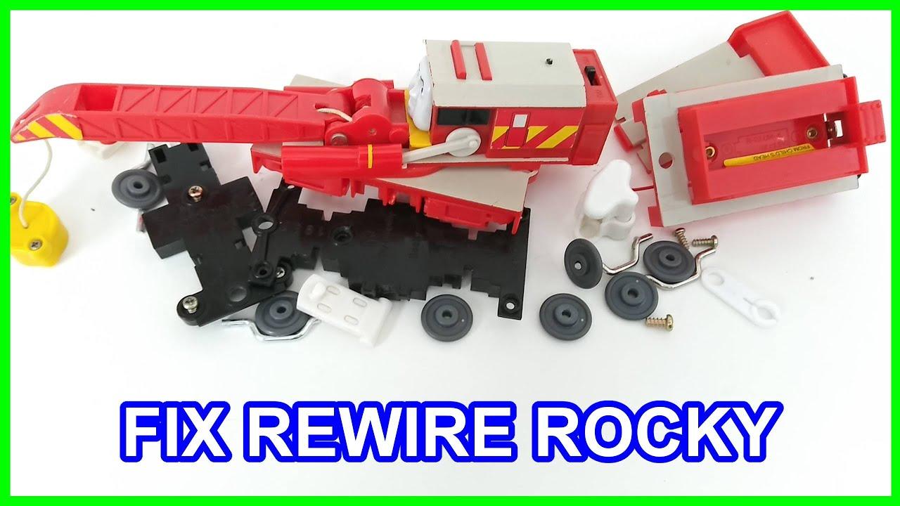 Thomas & friends Trackmaster FIX REWIRE ROCKY