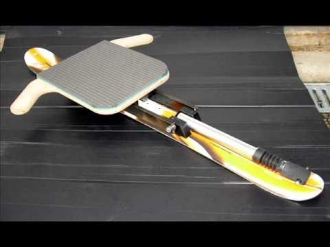 carvingschlitten gaisbock modell youtube. Black Bedroom Furniture Sets. Home Design Ideas
