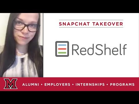 Lauren's Marketing Internship for RedShelf in Chicago, IL