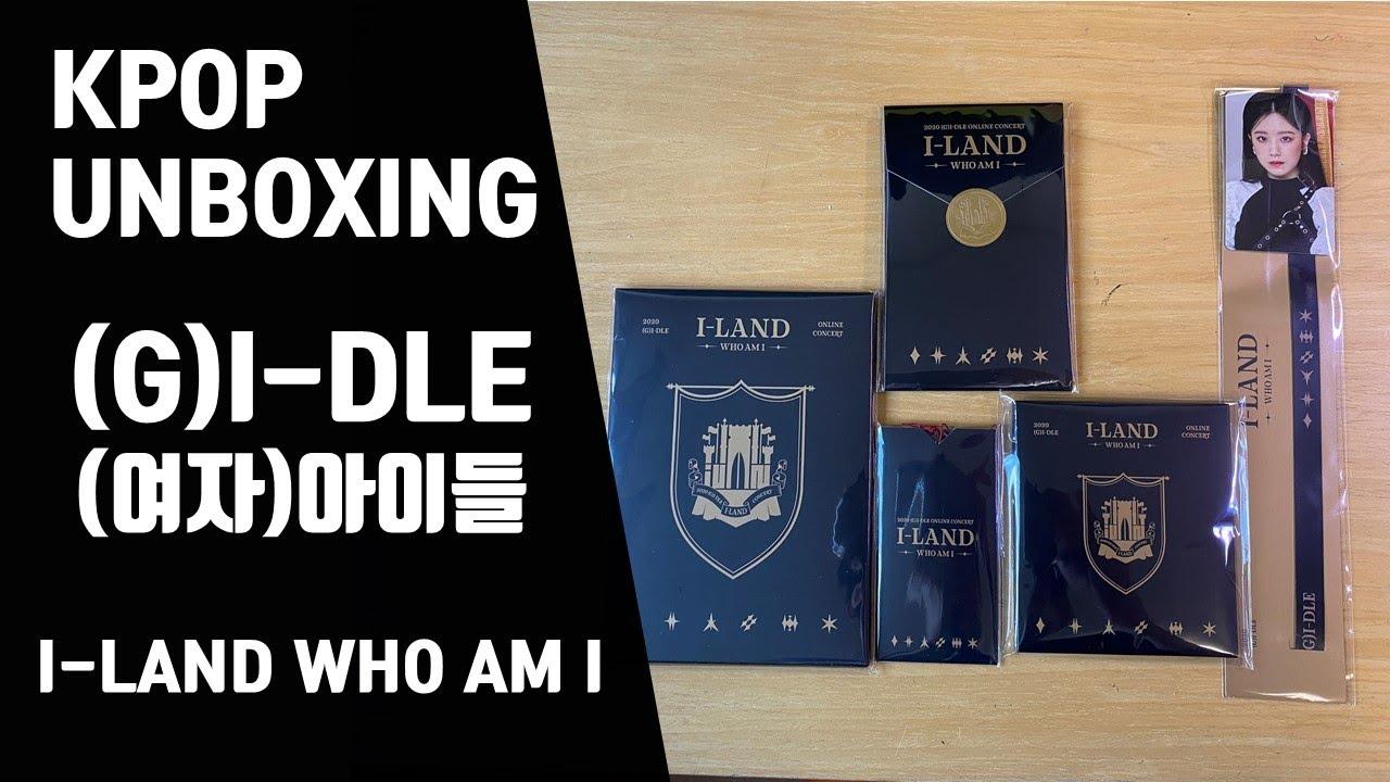 [UNBOXING🎁GIVEAWAY] (G)IDLE (여자)아이들 I-LAND : WHO AM I OFFICIAL GOODS MD 아이랜드 콘서트 엠디 공식굿즈 [언박싱🎁무료나눔]