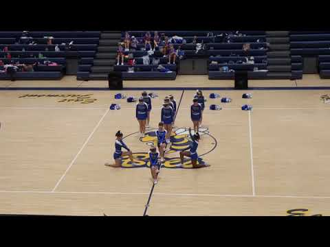 Follansbee Middle School Cheer 2018
