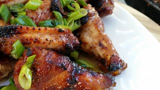 Hawaiian Bbq Chicken Wings Recipe