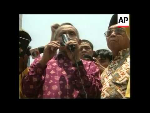 INDONESIA: POLITICAL PARTIES CALL FOR REFORM