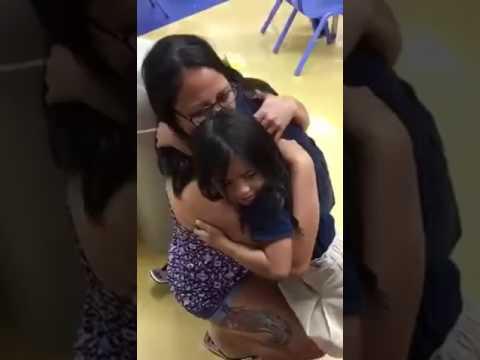 Hospital corpsman returns home to Guam, surprises her child