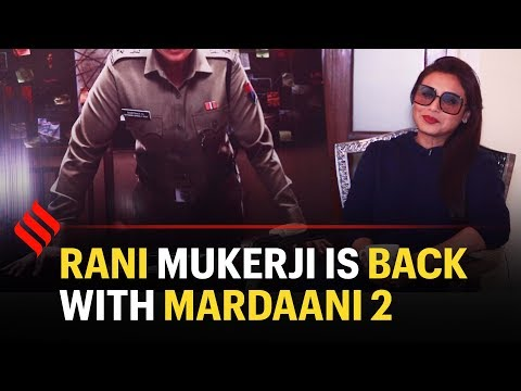 Rani Mukerji Interview: Rani talks about her character in Mardaani 2