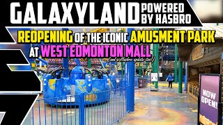 Galaxyland Returns - Re-Opening after COVID Shutdown - Best Edmonton Mall