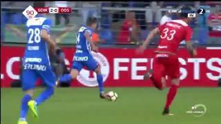 Krc Genk vs kv oostende 2-1 , samatta goal