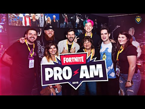 $3,000,000-fortnite-pro-am-with-ninja,-tim,-brendon-urie,-dillon-francis,-and-more!-(vlog)