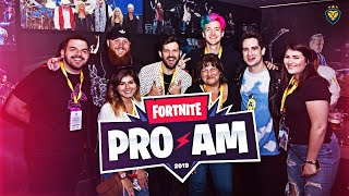 $3,000,000 FORTNITE PRO-AM WITH NINJA, TIM, BRENDON URIE, DILLON FRANCIS, AND MORE! (VLOG)