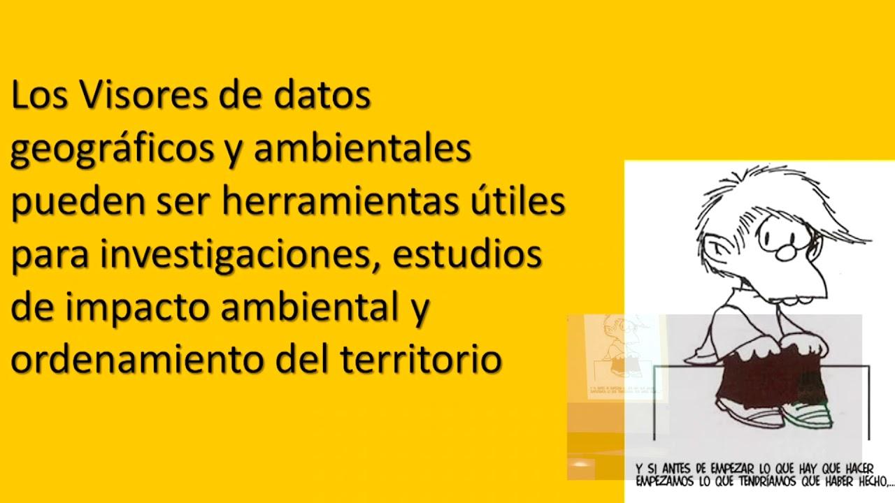 Image from Visor Ambiental. Herramienta para integrar datos científicos en intervención territorial sostenible.