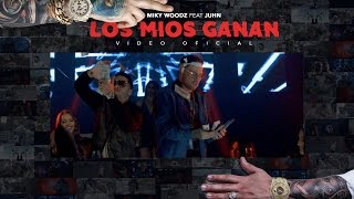 Смотреть клип Miky Woodz Ft. Juhn - Los Mios Ganan