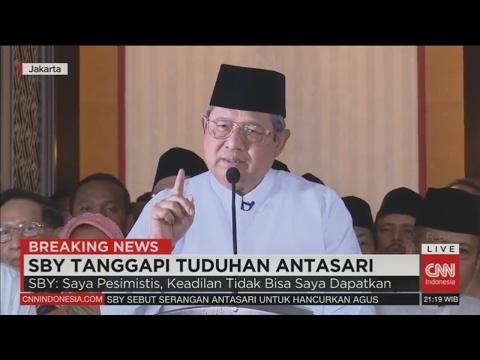 FULL! Breaking News: SBY Tanggapi Tudingan Antasari Azhar
