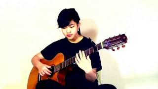 Hoa Bằng  Lăng (Cover Virginia Nguyen - Bé Mẫn) Guitar solo
