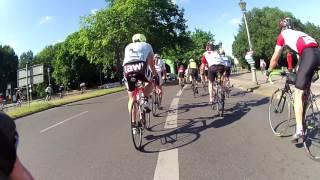 Euroeyes Velothon Berlin 2017 Streckenteilung 60km & 180km