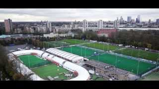 The making of the Ice-World 400 metre speedskating rink in Rotterdam