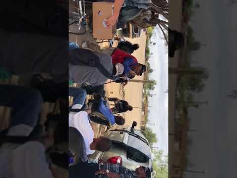 Gospel presentation to the homeless in Phoenix,AZ